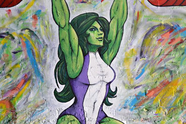 'She-Hulk' detail