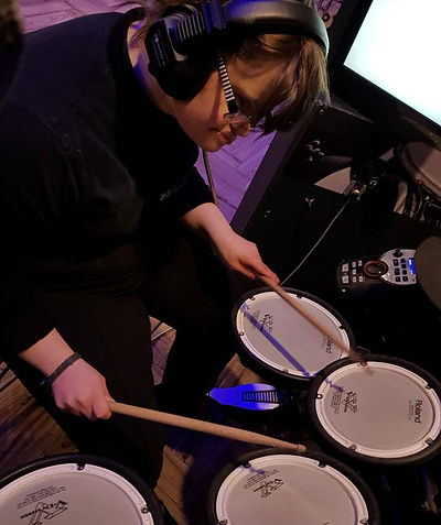 adult disabilities, music tuition, social events, drums, music, disabilities southport, the learning rooms