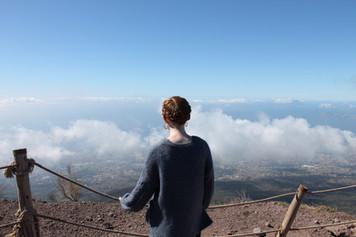Overlooking Naples