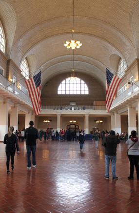 Ellis Island Registration Hall