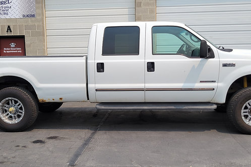 2000 F250 CREW CAB LONG BED XLT AUTOMATIC 4X4 7.3 POWERSTROKE WITH 423K