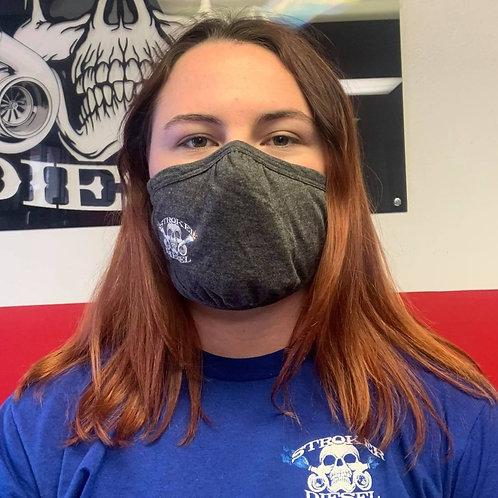 Stroker Diesel Custom Face Mask in Charcoal