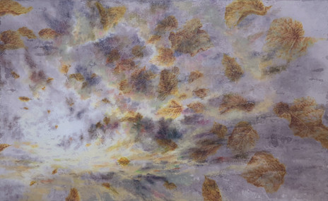 The Sky-The Leaves2002_80x130cm_color on