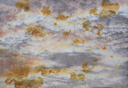 The Sky-The Leaves2006_50x73cm_color on