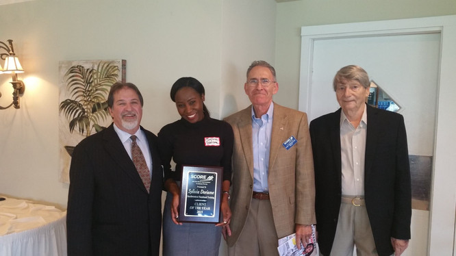 SCORE SBA Client of the year