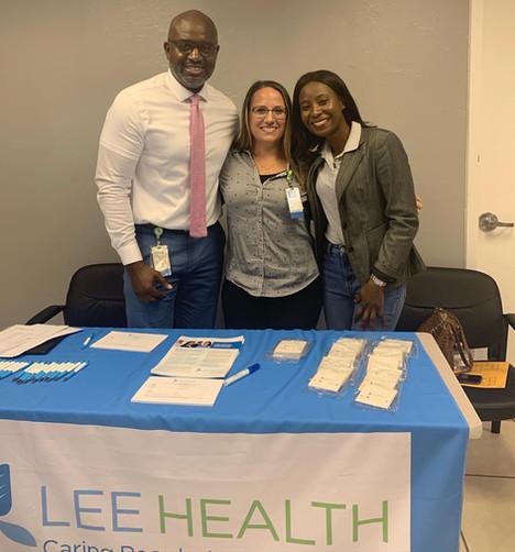 Job Fair with Lee Health