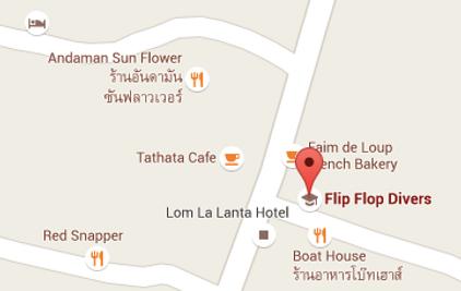Flip Flop Divers Location