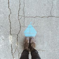 Adrift on a sailboat dreamin