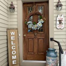 Nice To Add a Little Spring to a Winter Scene Bev L.