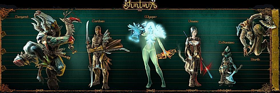 Shintiara RPG Races