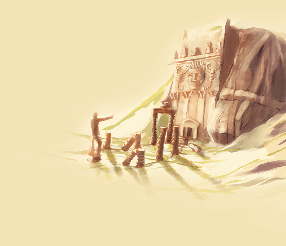 Un antico tempio