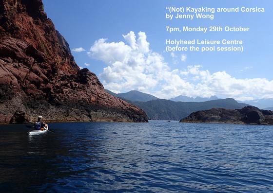 (Not) kayaking around Corsica