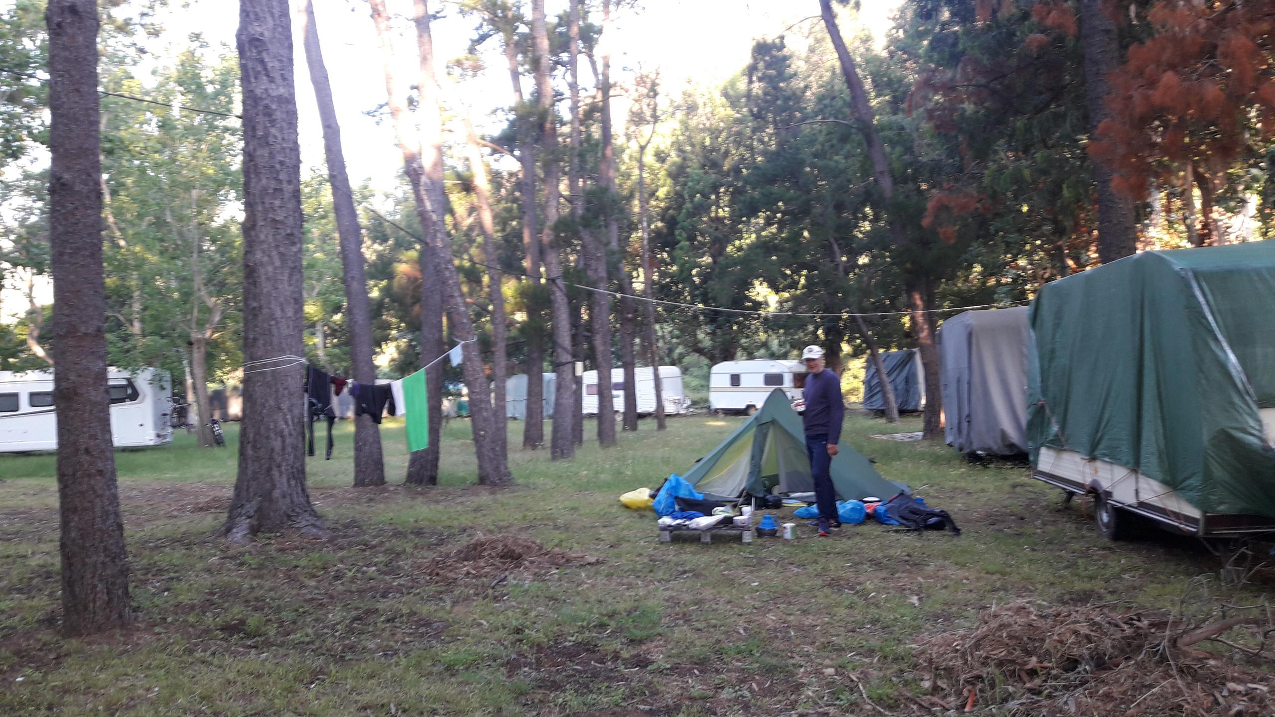 Ideal campsite, Galeria