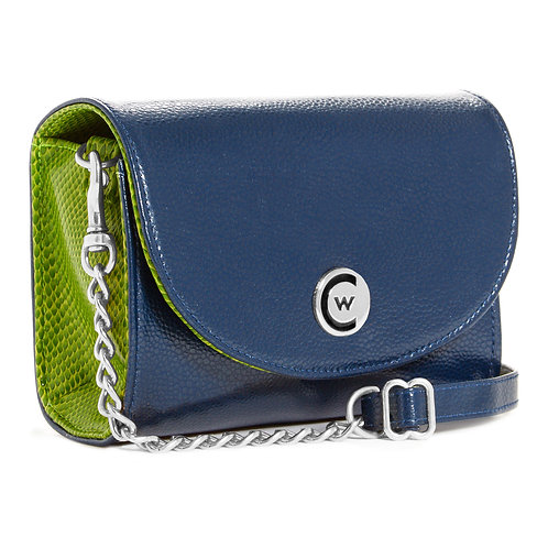 Seattle Two-Toned W/ Silver Chain Strap