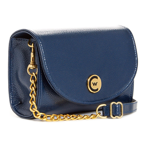 Solid Navy W/Chain Strap