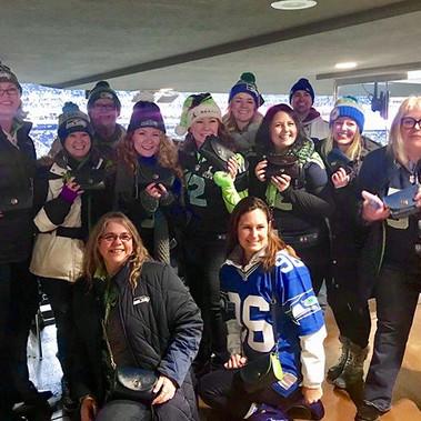 We did a #ClutchWomen meet up in Seattle