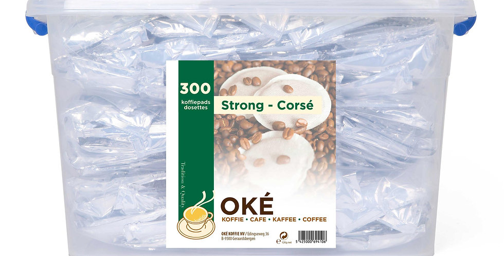 Koffie Pads Strong 300 pads