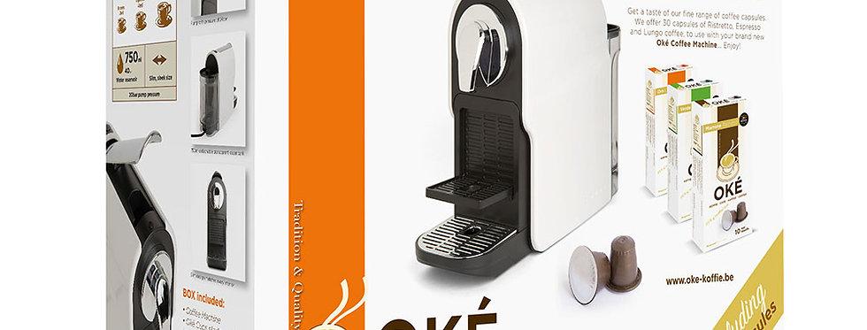 Starters pakket Koffie Machine