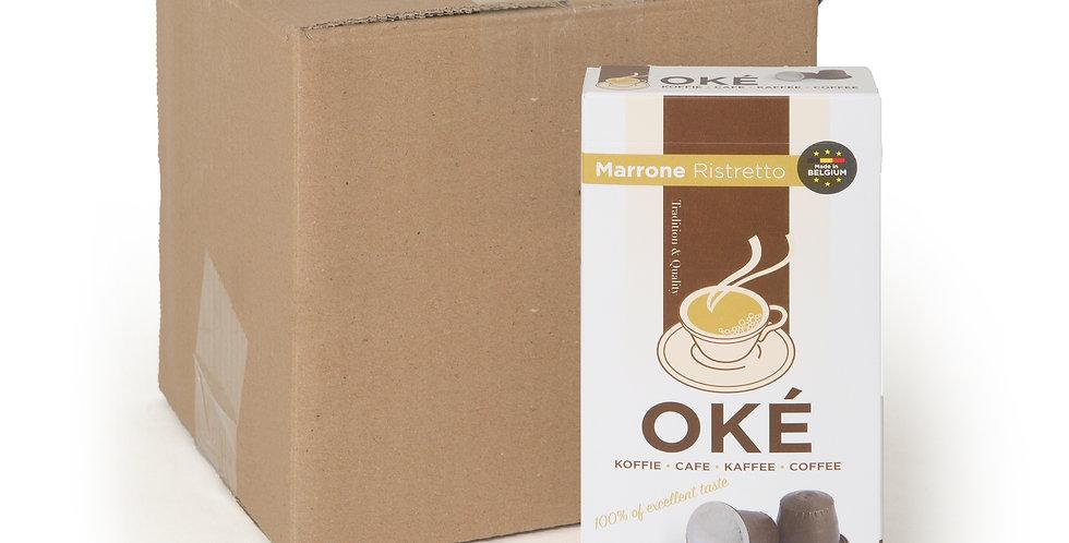 """Box 10 x 10 Cups """"Marrone Ristretto"""""""