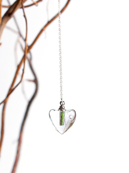 Crystal Terrarium Heart