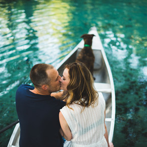Ginnie Springs Engagement { Taylor + Nate }