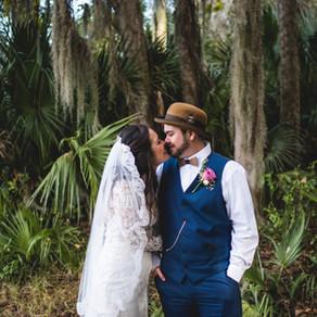 Mr. & Mrs. Magyer // Payne's Prairie, Gainesville, FL // Asheville Wedding photographer