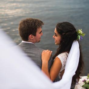Fort McCoy Island Lake House { Wedding Photography } Lindsay & Barrett