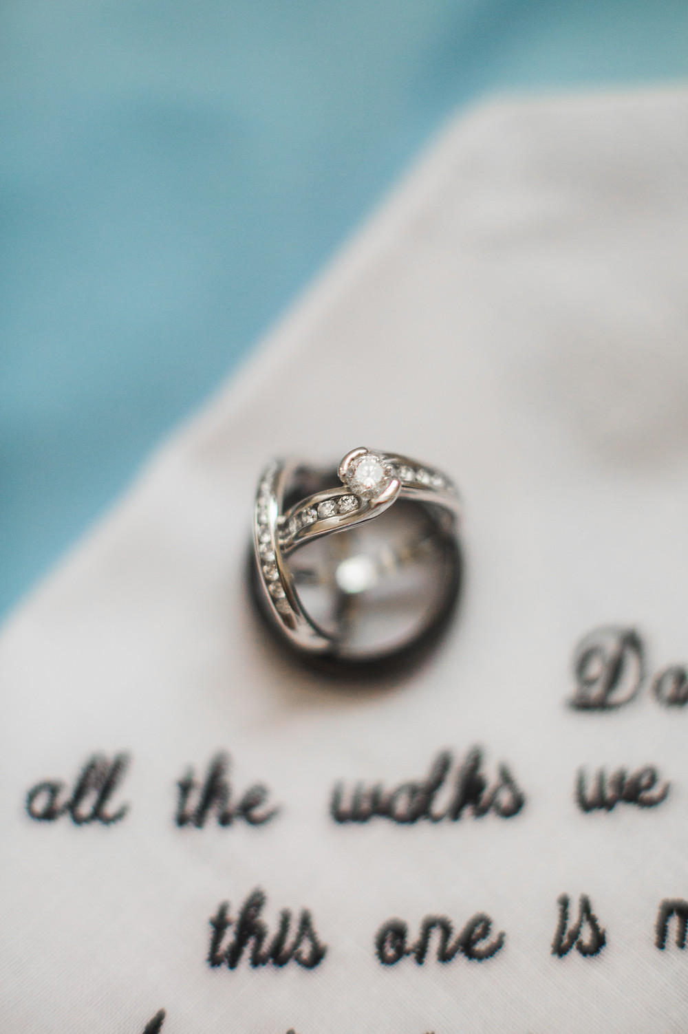wedding detail photography rings