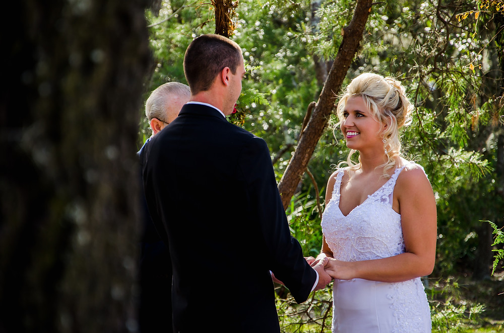 Wedding vow photography