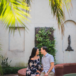 Grace & Zach // engagement photography in St. Augustine, FL // Asheville photographer