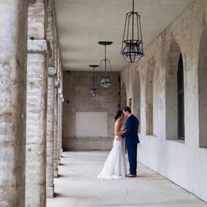 St. Augustine Wedding Photographer / Cathedral Basilica St. Augustine, The Parlor Room { Grace &