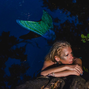 Dogwood Springs Mermaid! // Ginnie Springs