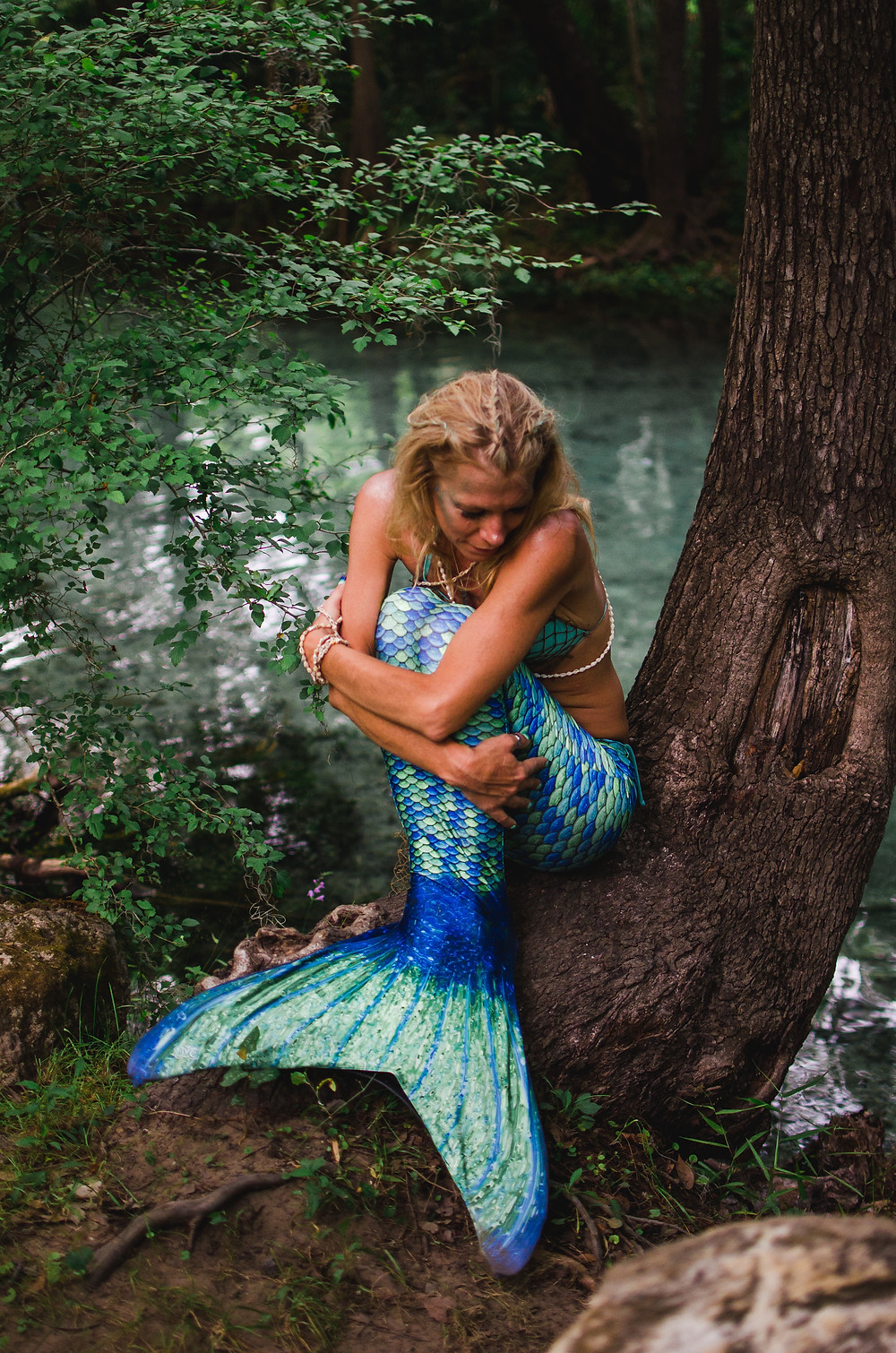 mermaid photography ginnie springs florida
