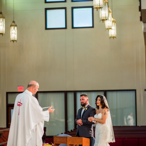Queen of Peace Catholic Church | Little Forest Farm | Newberry Wedding Photography { Kerianne + Tony
