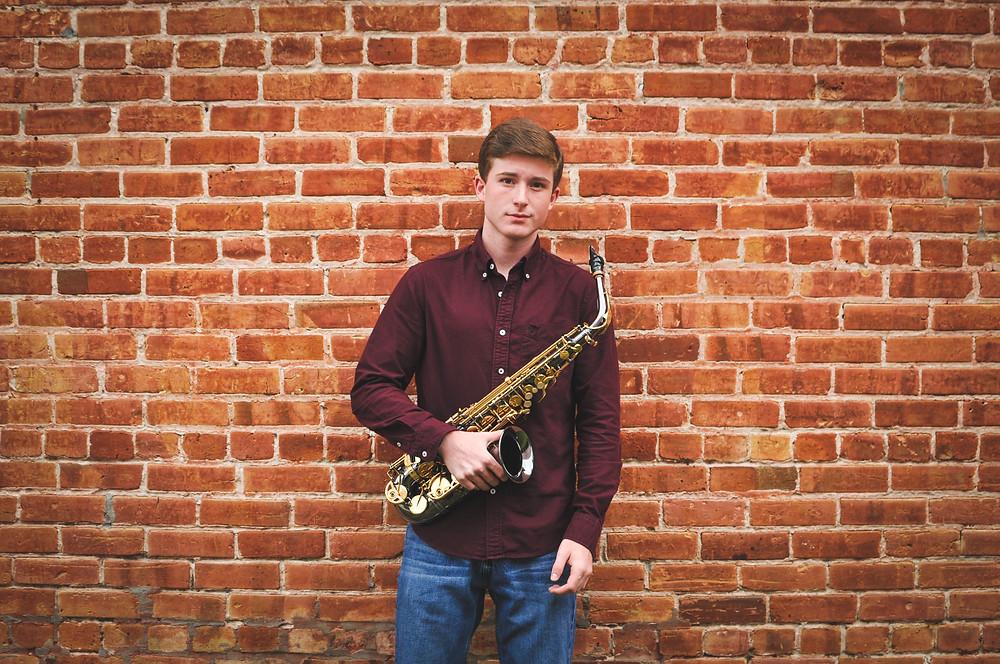 musician portraits saxophone