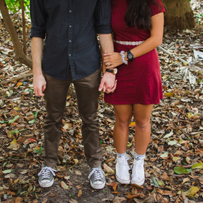 Lindsay & Barrett { Engagement }