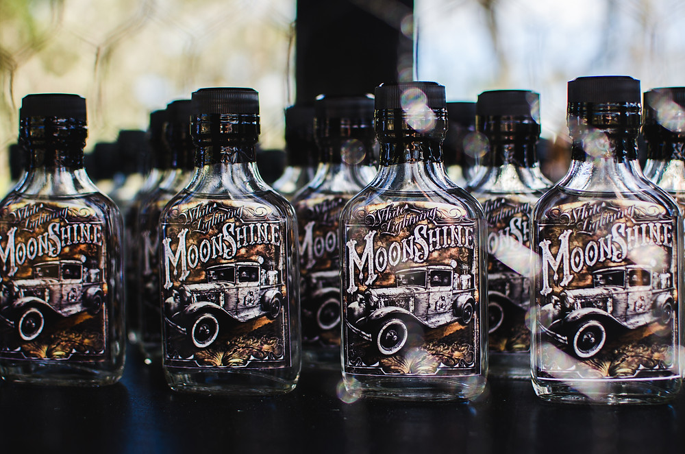 moonshine wedding favors