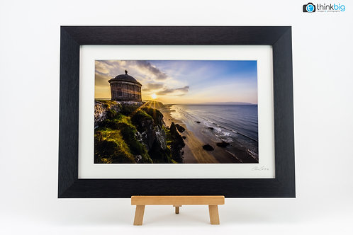 MUSSENDEN TEMPLE FINISHED WITH BESPOKE FRAMING