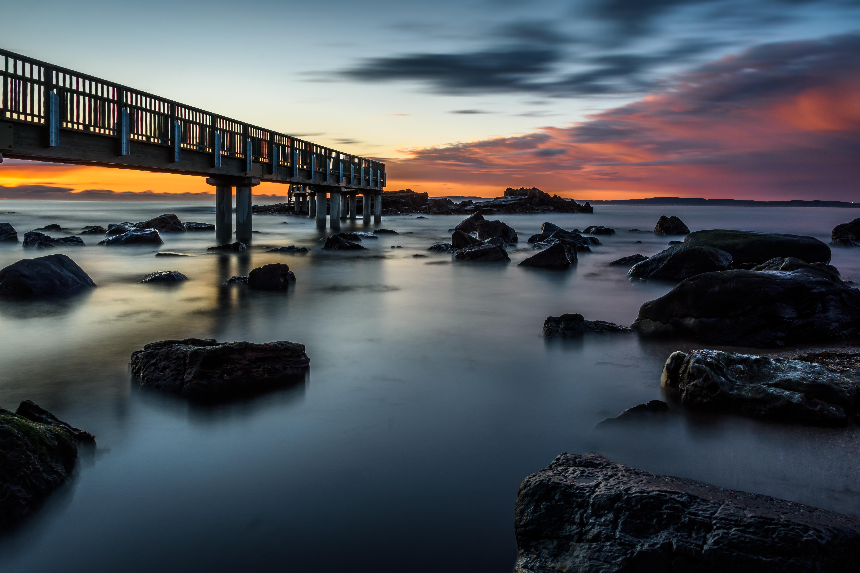 Old Pier Pans Rock - REF:3