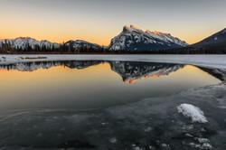 Frozen Sunset - Rockies - REF:58