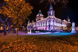 City Hall Autumn Night - REF:69