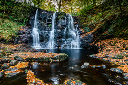 Autumn Glenariff Waterfall - REF:70