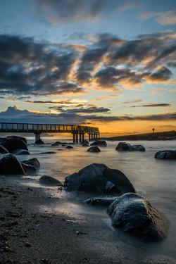 Sky Breaking Marconi's Pier - REF:2