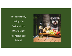 A - Dog and Wine