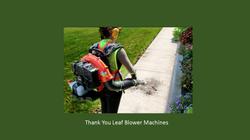 C - Leaf Blower Machines