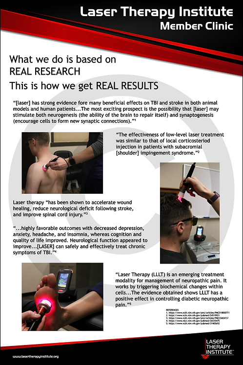 Poster- Real Research, Real Results (white)