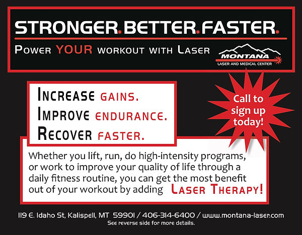 Laser Powered Workout Program