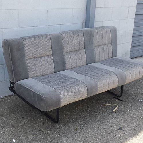 universal van fold down bench seat sofa bed/ futon | INTERIORS ...