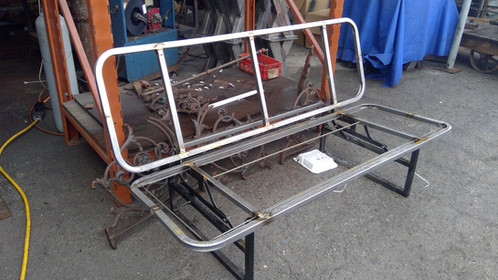 Heavy Duty Rv Camper Sprinter Cargo Van Sofa Bed Futon Metal Frame Bare