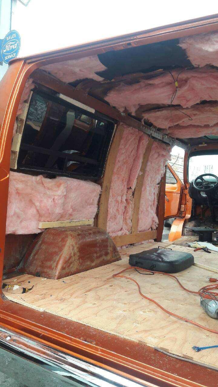 van interior restoration